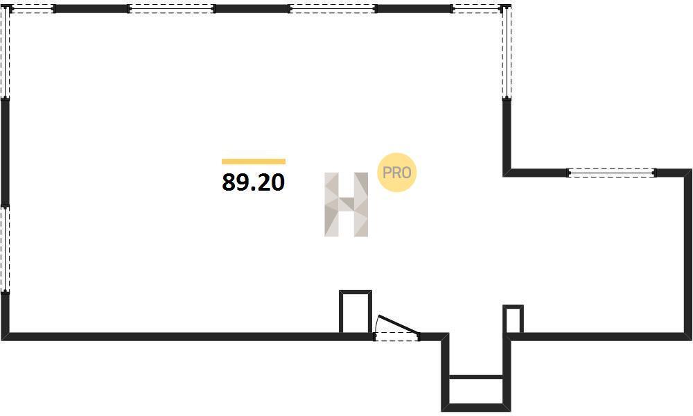 3-комнатная квартира в ЖК Метрополия