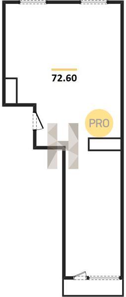 2-комнатная квартира в ЖК Зиларт