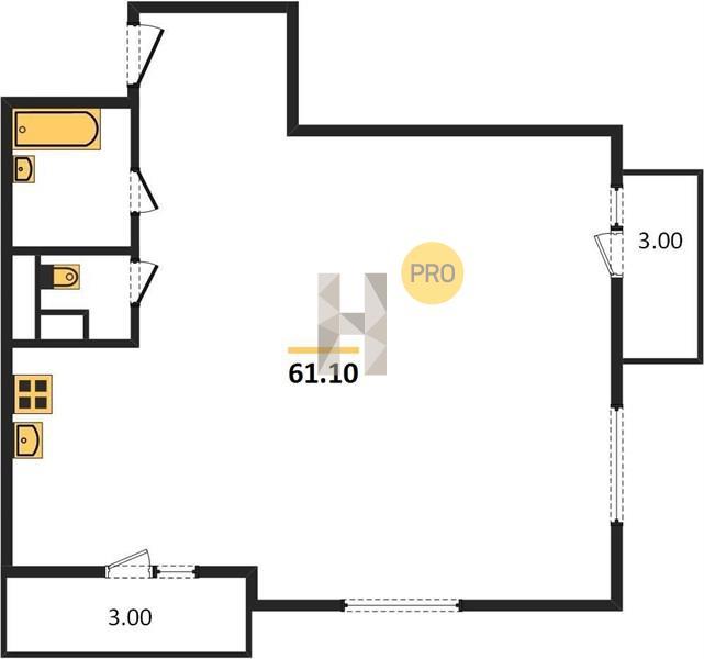 2-комнатная квартира в ЖК Люберцы 2017